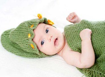 Knit Baby Cap