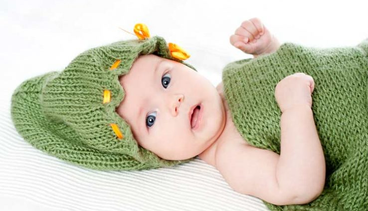 Knit Baby Cap