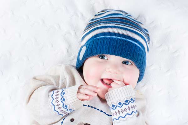 how to knit a baby hat