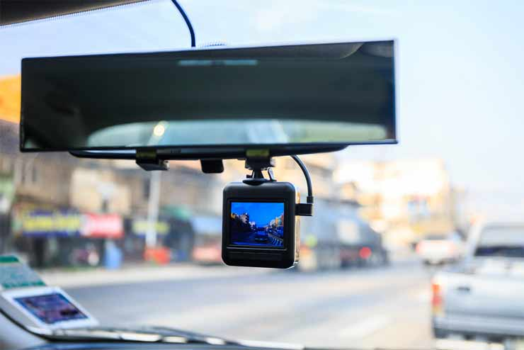 can dashcam footage be used in court