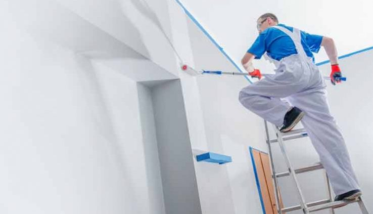 How do I prepare my house for painting