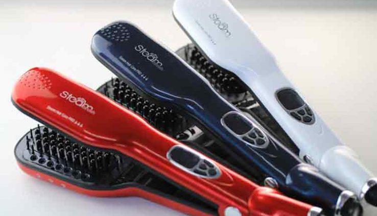 steam hair straightener